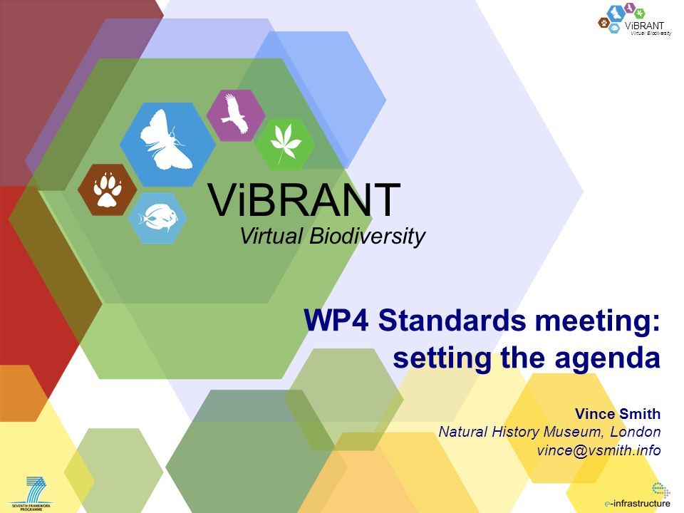 ViBRANT 2 of Background to WP4 Overarching objectives & vision 1.Facilitate integration and harmonisation of distributed data-sets 2.Provide management and dissemination facilities for the necessary ontologies 3.Provide biologists with the necessary flexibility to express their knowledge regardless of whether the terminology has been standardized yet or not.