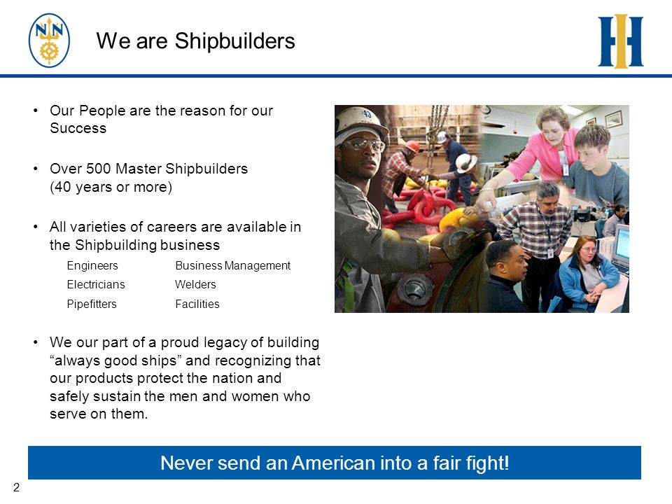 The workforce is changing The workforce is aging –National demographic / local impact –Retiring workers will leave significant gaps in knowledge, skills, and experienced craftsmanship Workforce training is costly –>$8000 / employee in the first year alone Most workers we hire need additional training –Workforce ready Shipbuilder ready –Craft work requires high level skill sets –Technology is constantly evolving Newport News Shipbuilding will hire over 4,000 new employees in the next three years 3 The technology well use every day 8 years from now, hasnt been invented yet.