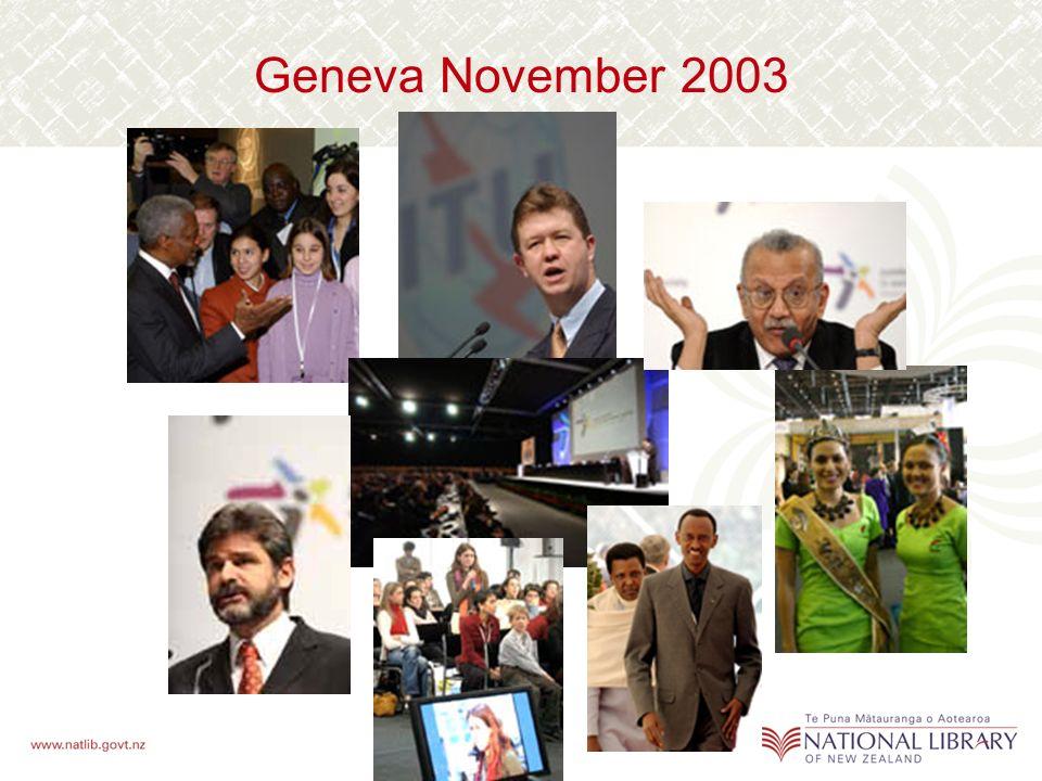 Geneva November 2003