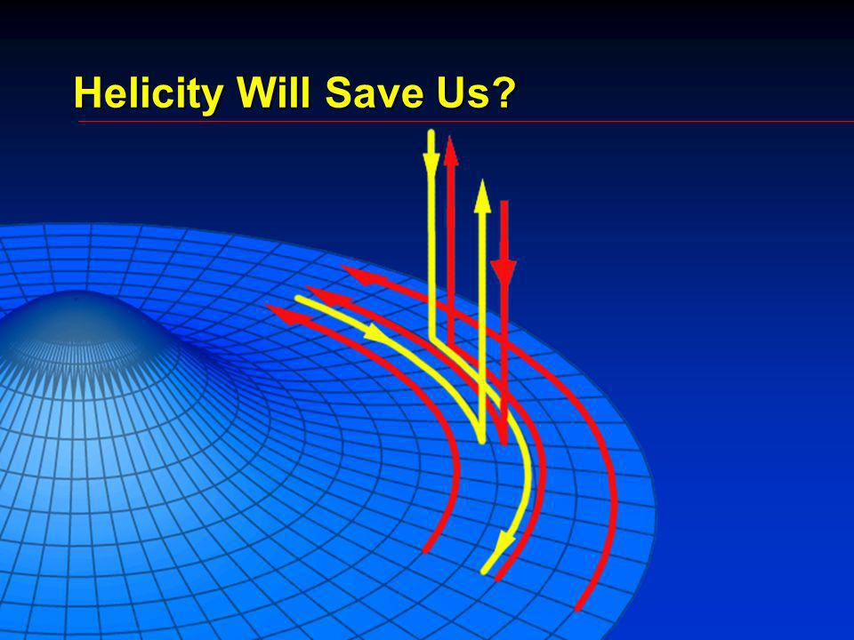 Helicity Will Save Us
