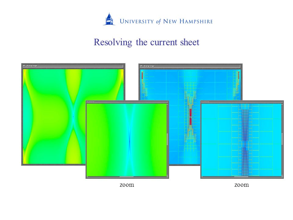 Resolving the current sheet zoom