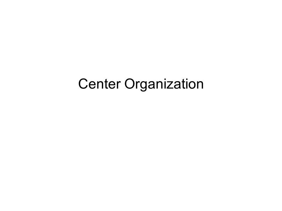 Center Organization