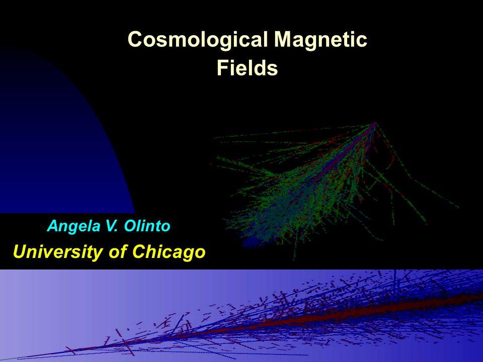 Cosmological Magnetic Fields Angela V. Olinto University of Chicago