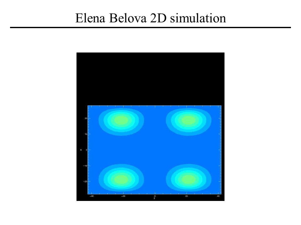 Elena Belova 2D simulation