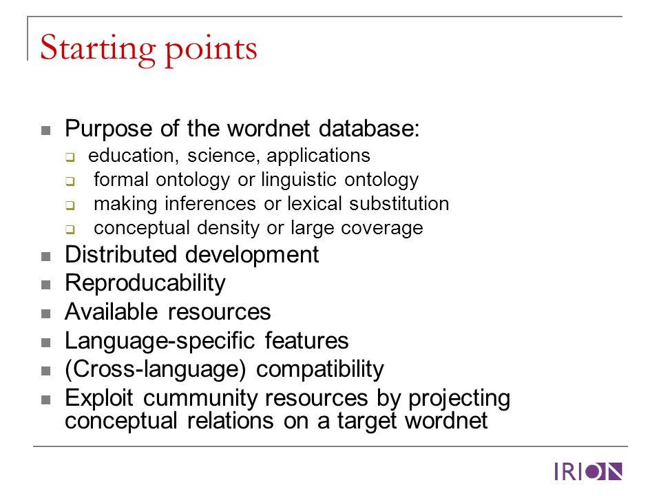 Semantic framework