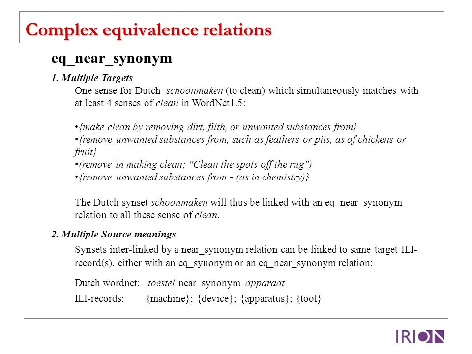 Complex equivalence relations eq_near_synonym 1.