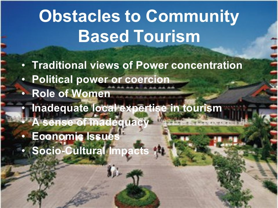 community based tourism Tourism is no longer a dirty word in mae klang luang, a small village in the dol inthanon national park in northern thailand and a couple of hours drive from the city of chiang mai.