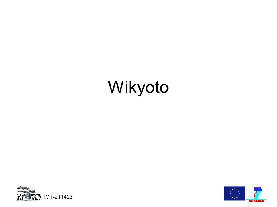 ICT-211423 Wikyoto