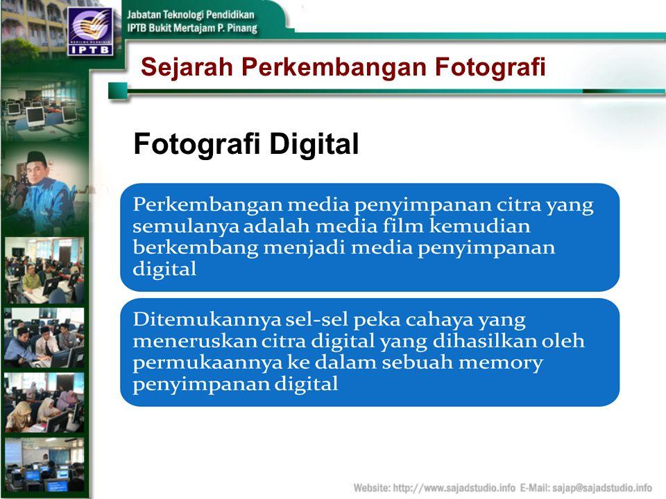 Sejarah Perkembangan Fotografi Fotografi Digital
