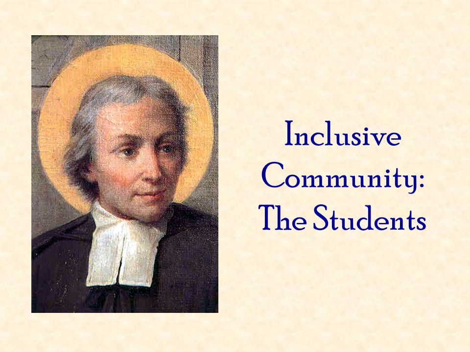 Inclusive Community: The Students