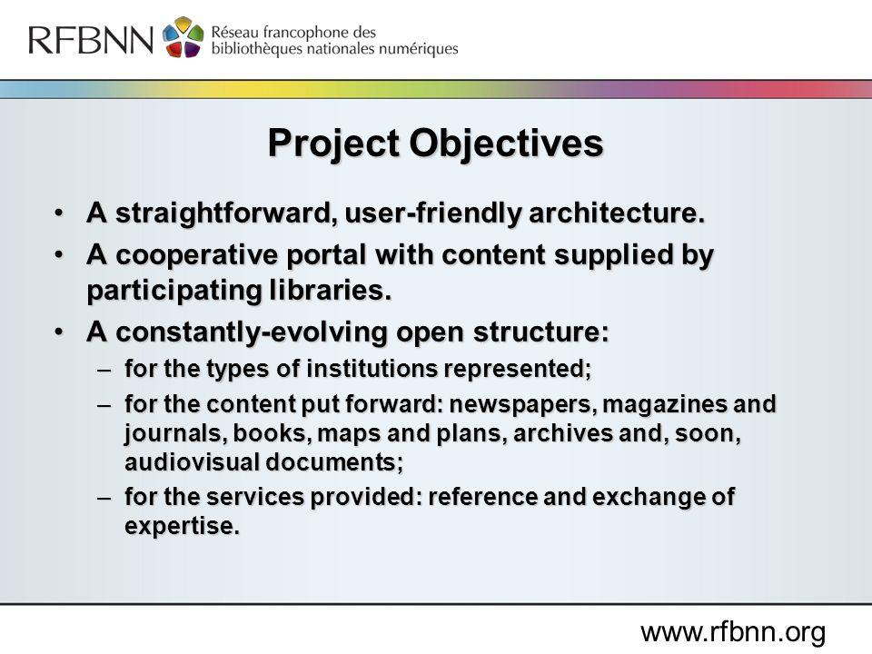 www.rfbnn.org A straightforward, user-friendly architecture.A straightforward, user-friendly architecture.