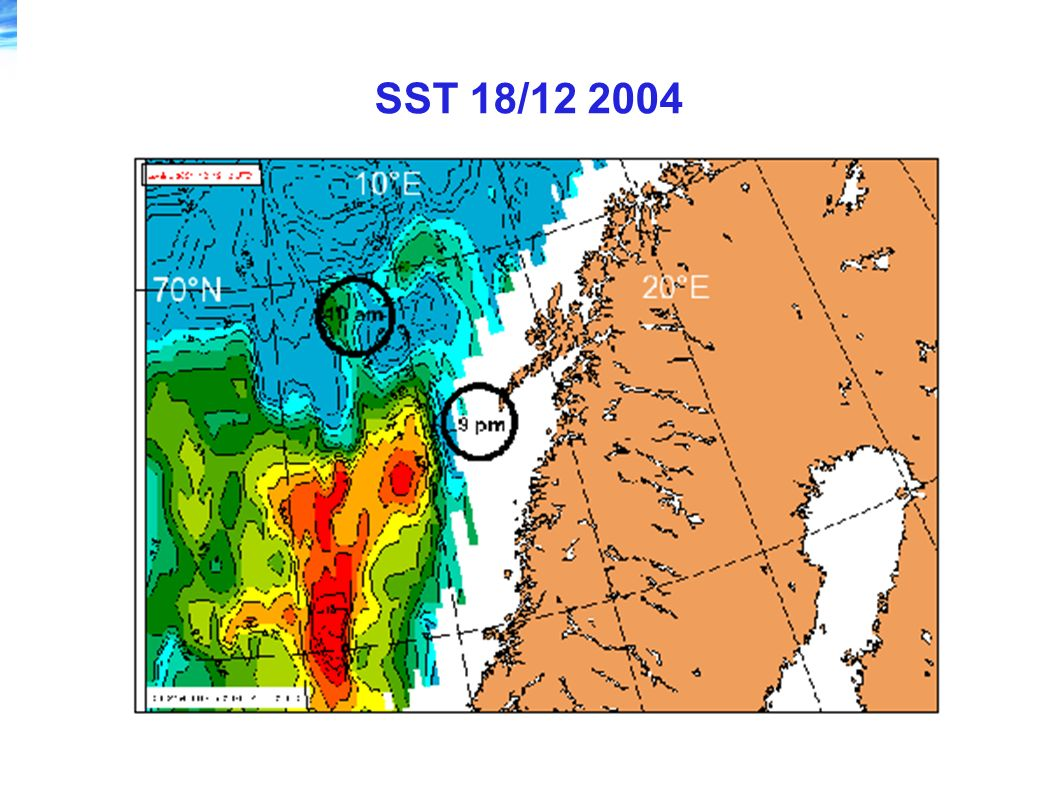 Meteorologisk Institutt met.no SST 18/