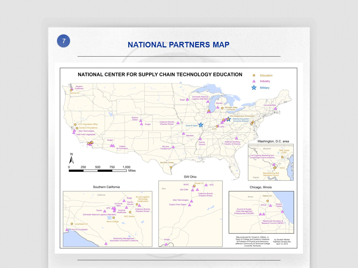7 NATIONAL PARTNERS MAP