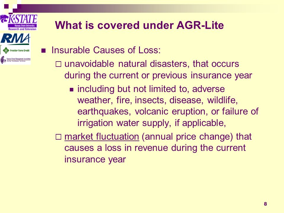 9 Coverage Choices & Limits Govt Subsidy Coverage Payment Minimum # of Commodities* Maximum Annual Income** LevelRate 59%65751$2,051,282 59%65901$1,709,401 55%75 1$1,777,777 55%75901$1,481,481 48%80753$1,666,666 48%80903$1,388,888 *Must meet minimum income requirements.