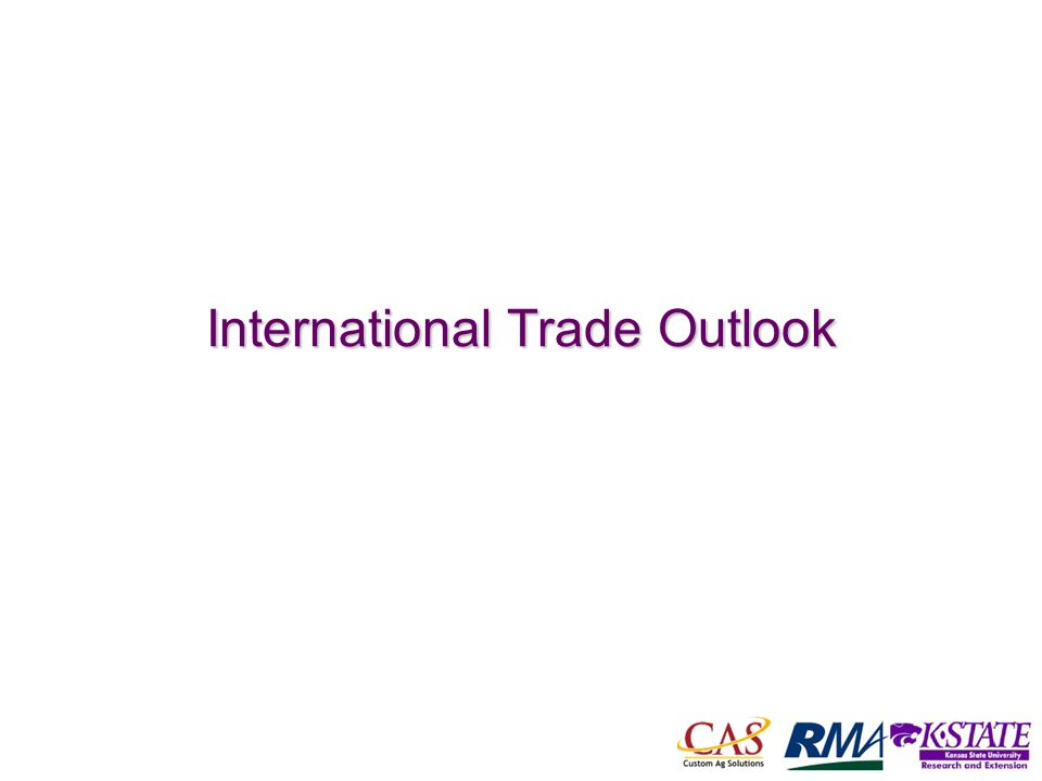 10 International Trade Outlook