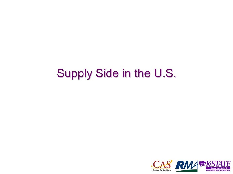 19 Supply Side in the U.S.