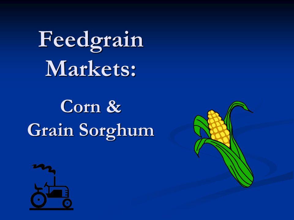 Feedgrain Markets: Corn & Grain Sorghum