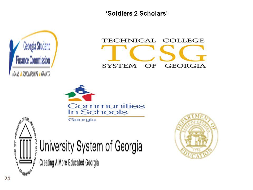 24 Soldiers 2 Scholars