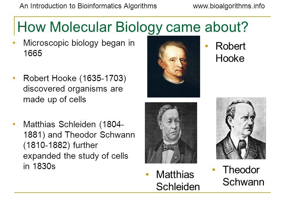An Introduction to Bioinformatics Algorithmswww.bioalgorithms.info Double helix of DNA