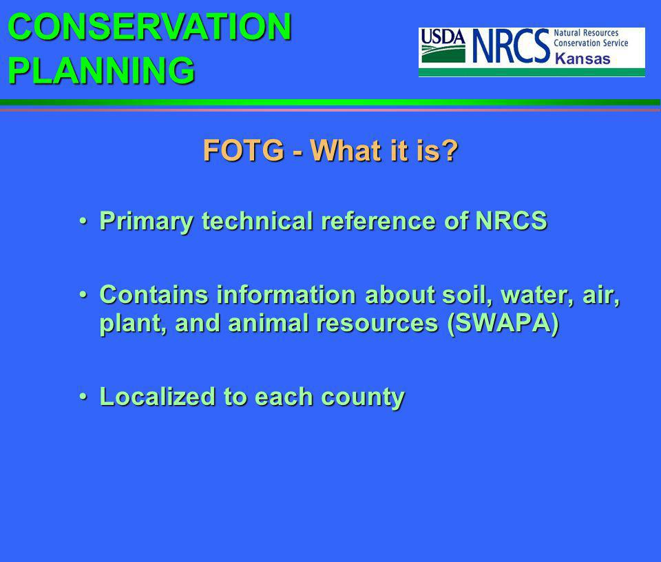 CONSERVATION PLANNING Field scouting can optimize pesticide and fertilizer use.