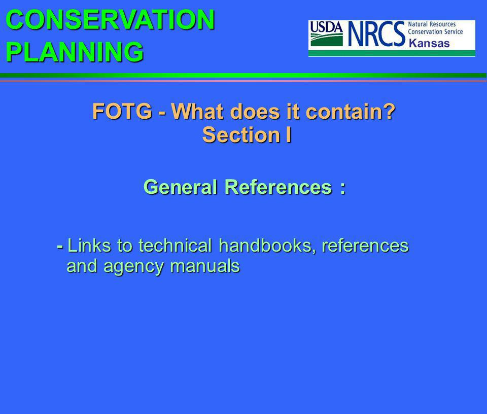 CONSERVATION PLANNING Technical Service Providers (TSPs) OPPORTUNITIES FOR TSPS