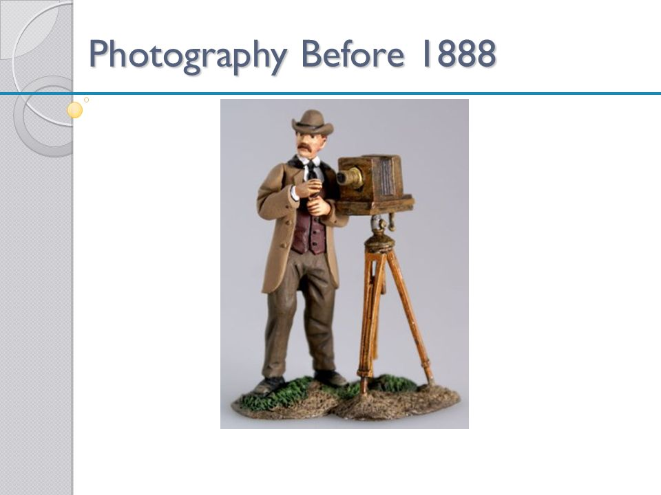 Photography Before 1888