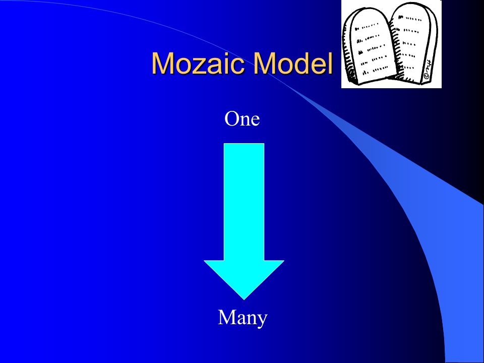 Mozaic Model One Many