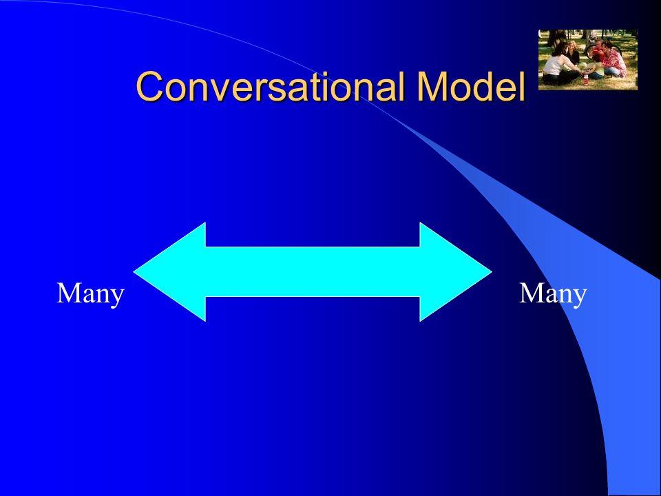 Conversational Model Many