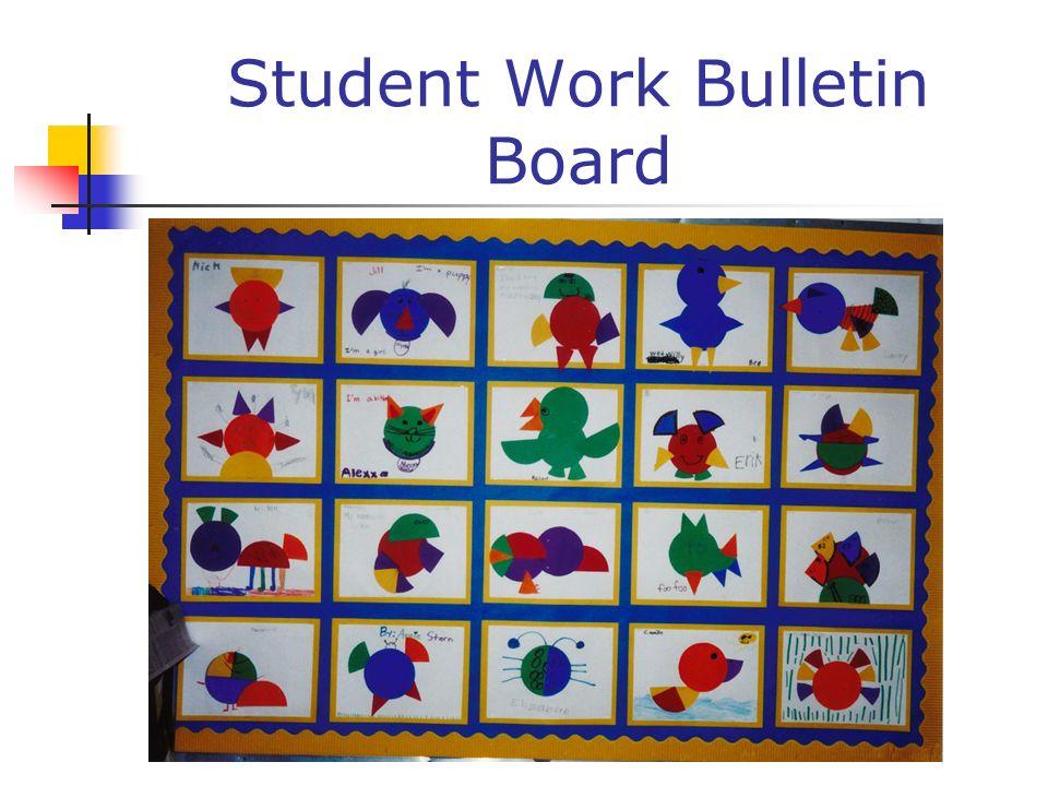 Student Work Bulletin Board