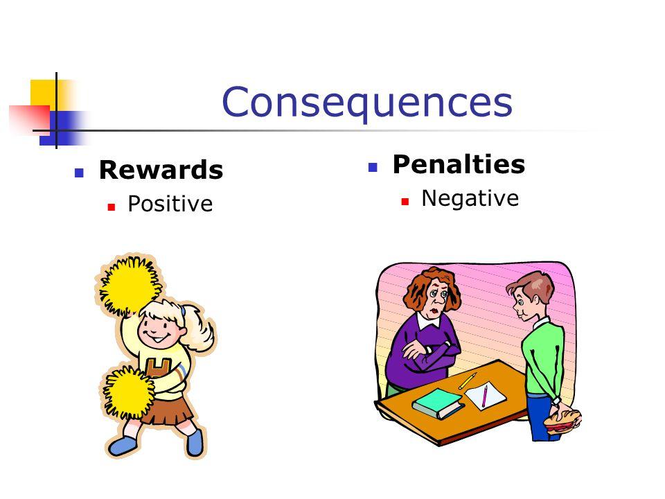 Consequences Rewards Positive Penalties Negative