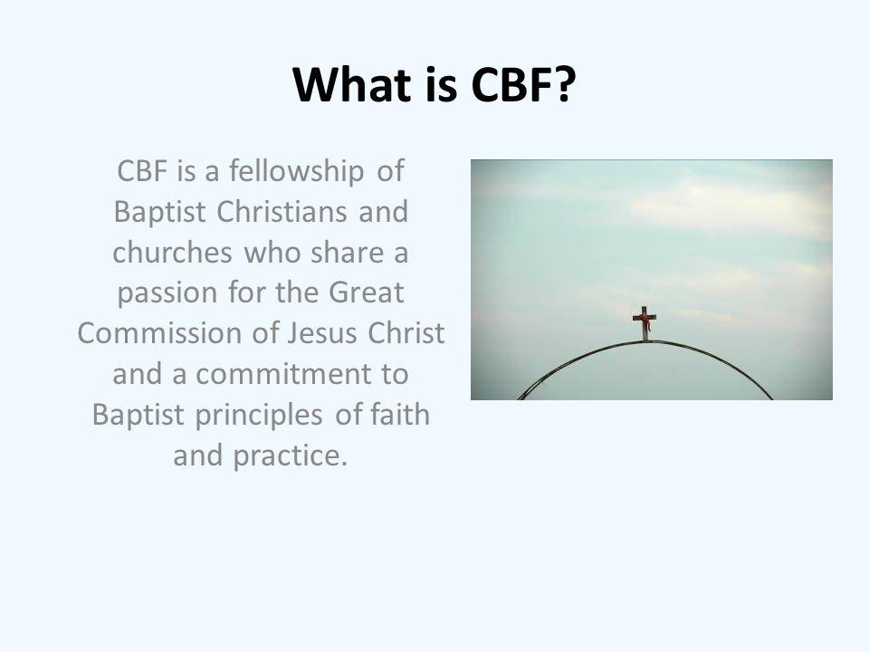 What is CBF.