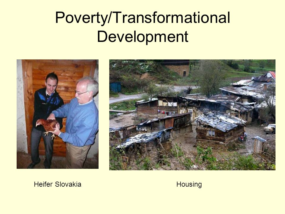 Poverty/Transformational Development Heifer SlovakiaHousing