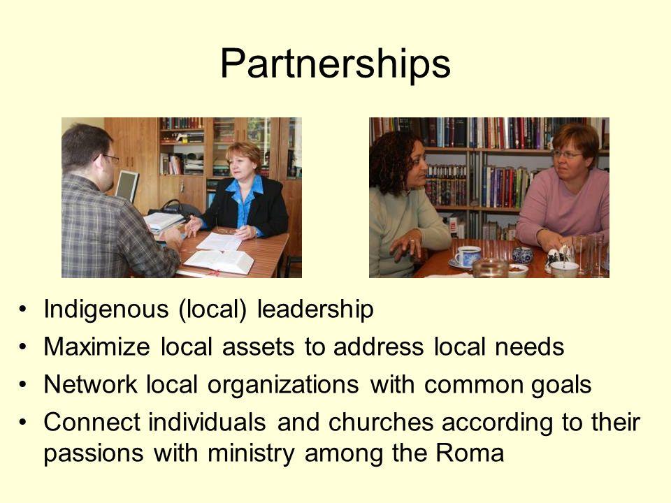 The transformative power of partnership.