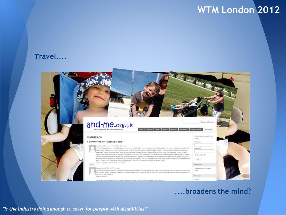 Travel.... WTM London 2012
