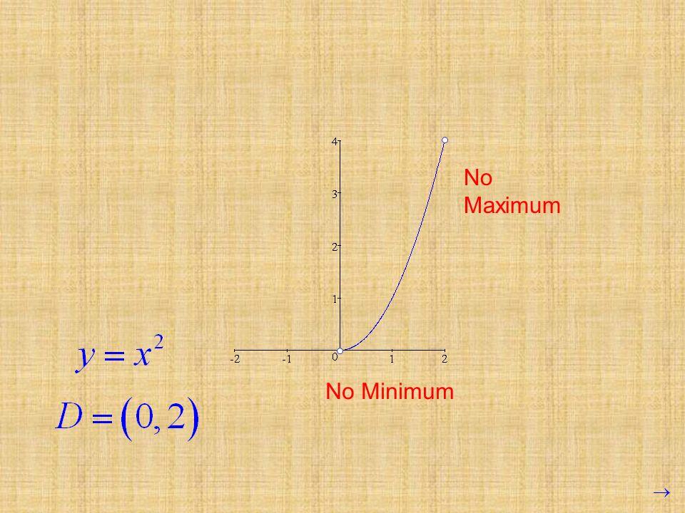 No Minimum No Maximum