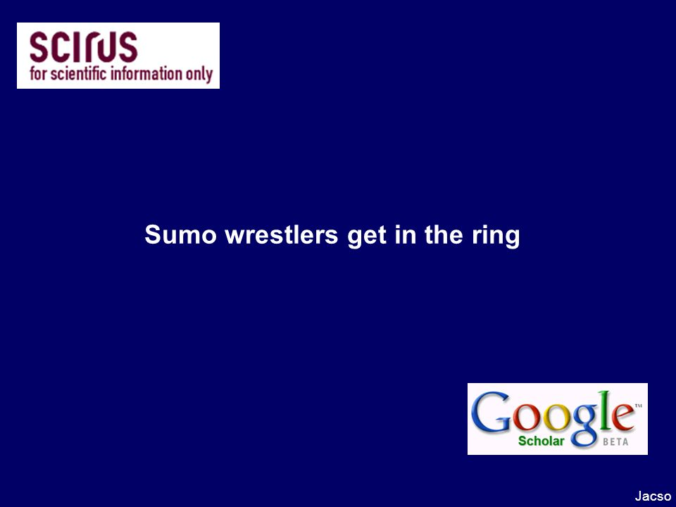 Sumo wrestlers get in the ring Jacso