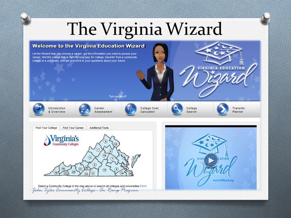 The Virginia Wizard John Tyler Community College - On Ramp Program