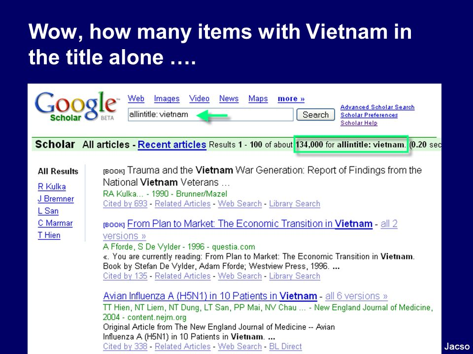 Wow, how many items with Vietnam in the title alone ….