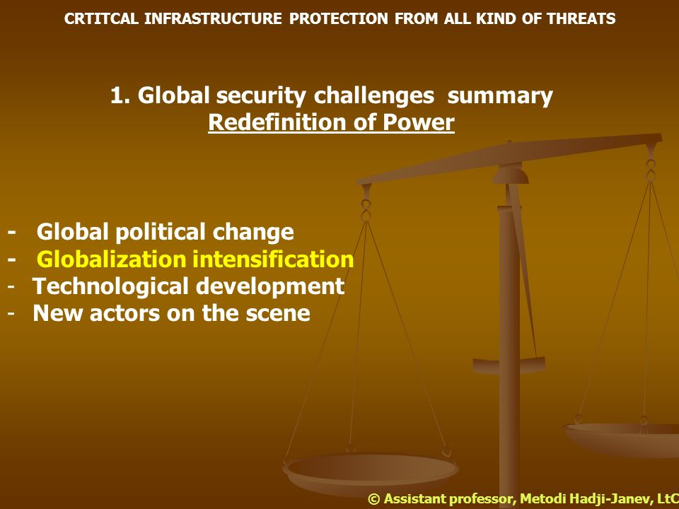 4. Conclusion CRTITCAL INFRASTRUCTURE PROTECTION FROM ALL KIND OF THREATS