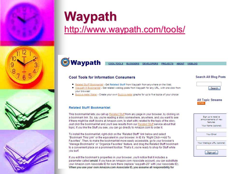 Waypath http://www.waypath.com/tools/ http://www.waypath.com/tools/