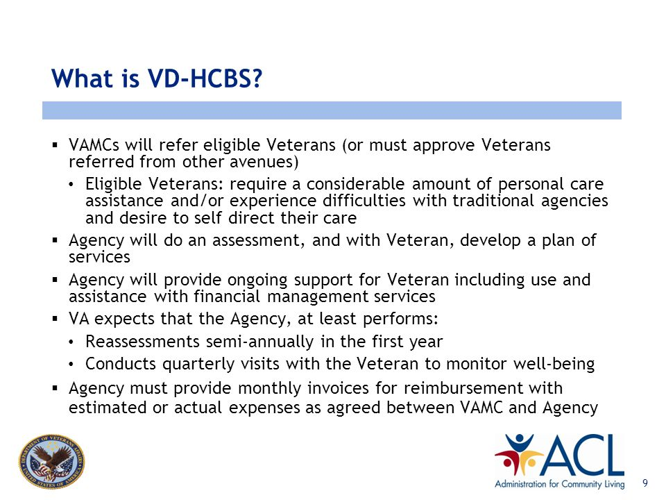 www.lewin.com What is VD-HCBS? A Veteran in the program: Receives an assessment and care planning assistance Decides for themselves, or with a partici