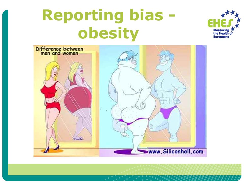 Reporting bias - obesity