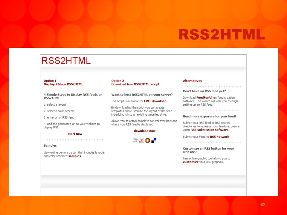 102 RSS2HTML