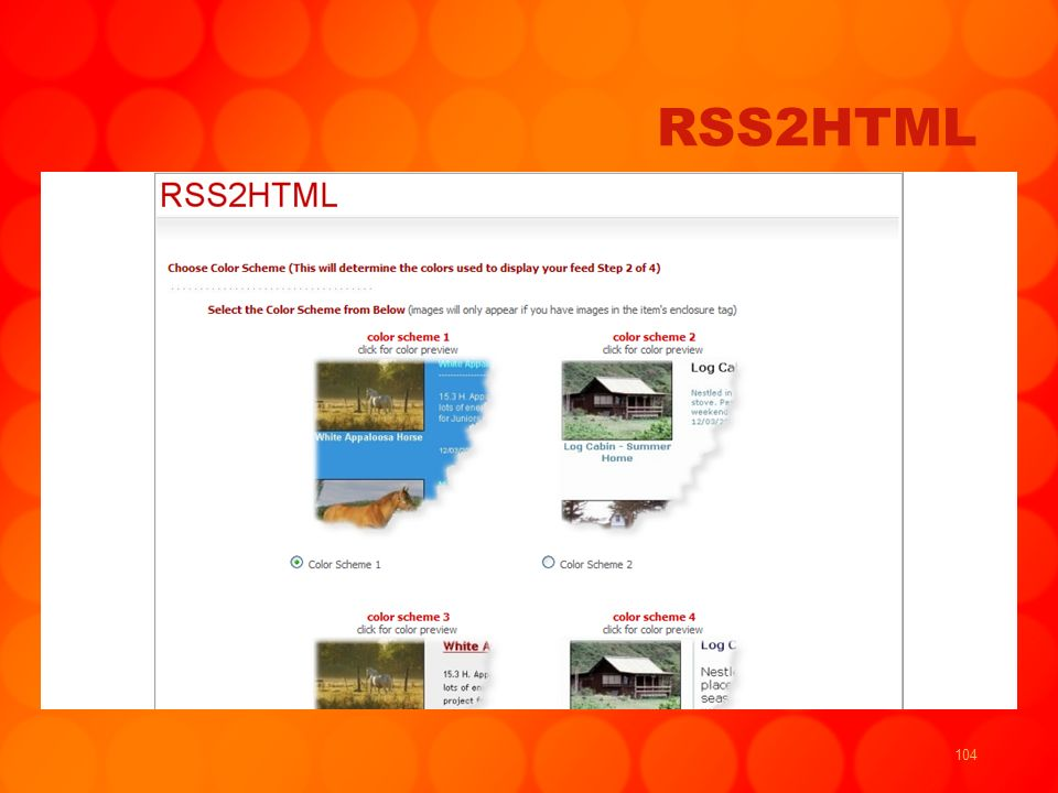 104 RSS2HTML
