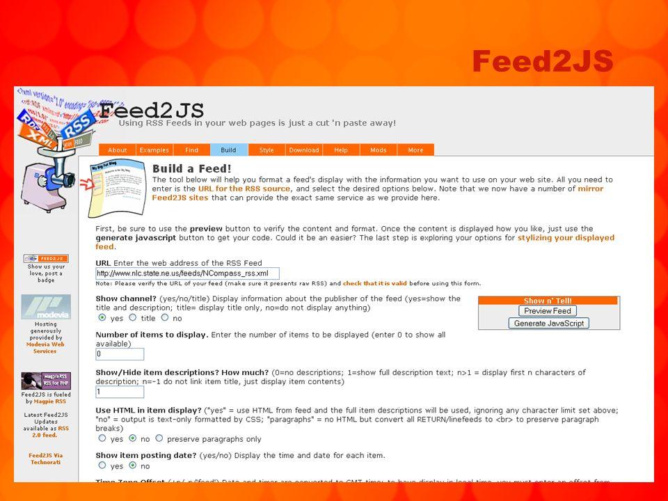 112 Feed2JS
