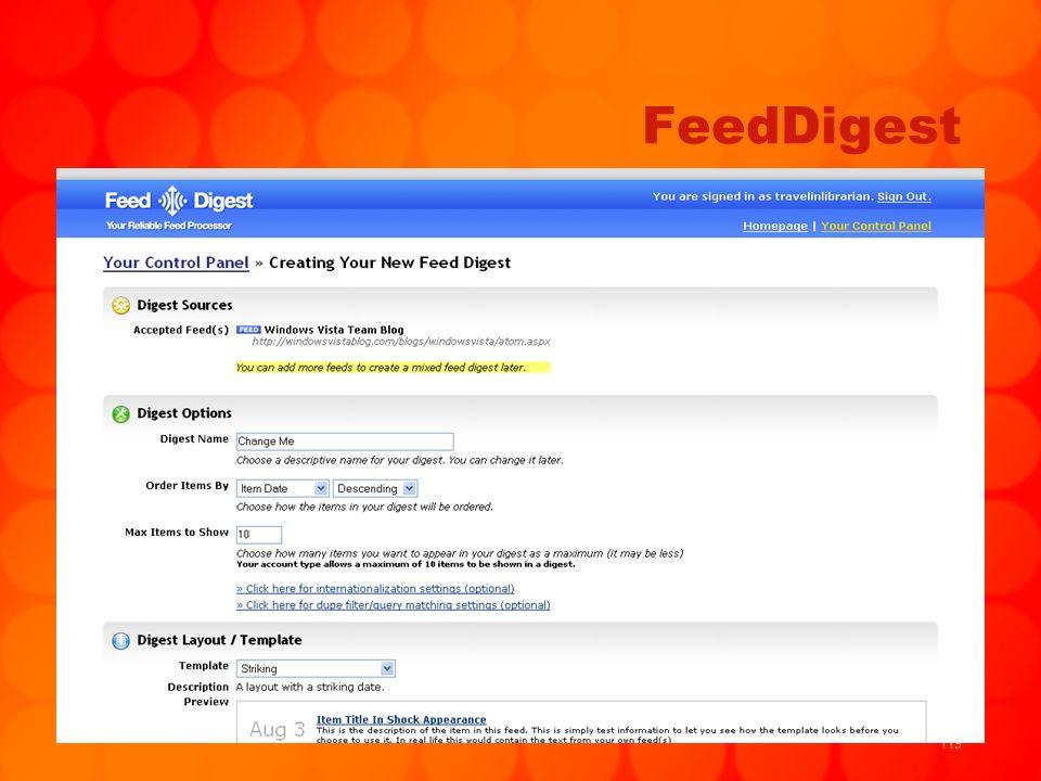 119 FeedDigest