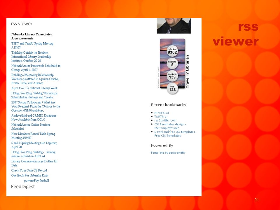 91 rss viewer