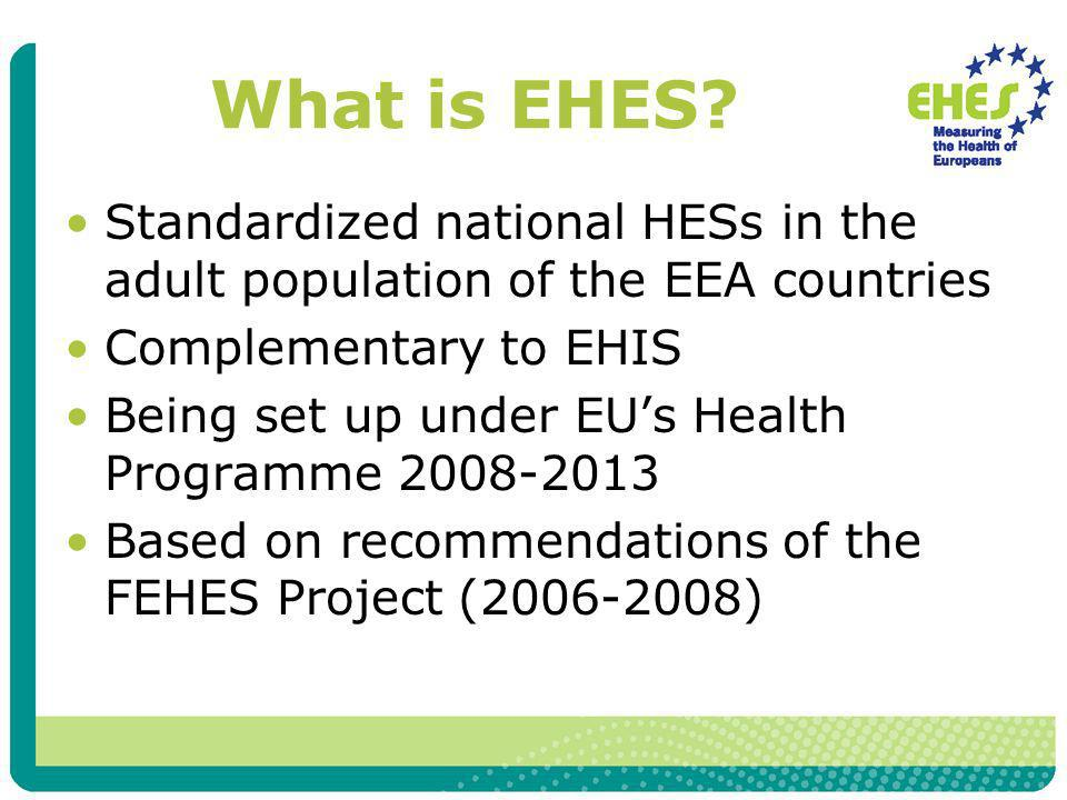 What is EHES.