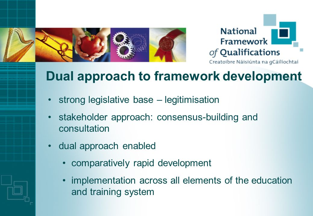 New legislation, new structures Qualifications (Education and Training) Act, 1999 three new organisations, 2001 National Qualifications Authority of I