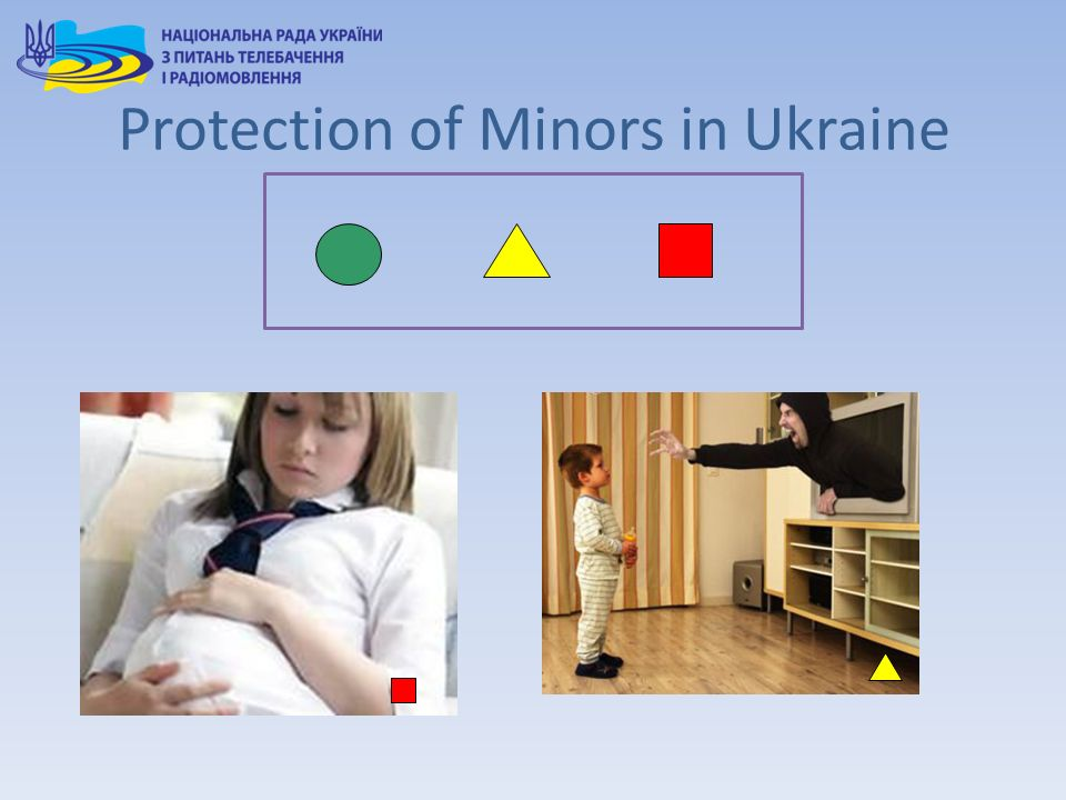Protection of Minors in Ukraine